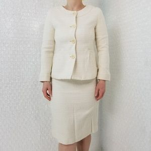 Theory Tessen blazer & Frieda C pencil skirt suit
